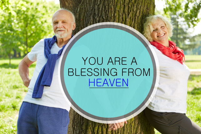 YOU ARE A BLESSING FROM HEAVEN