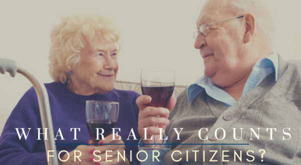 What Really Counts for Senior Citizens